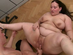 Sexy english bbw is getting plowed