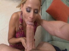 Milf takes monster sized cock