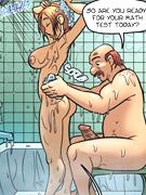 Sex-Cartoon porn.com Büschmilchspurt