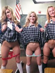 American apparel nude hegre